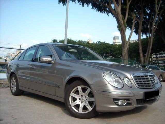 Mercedes benz e230 7g tronic oct 2007 for Mercedes benz e230